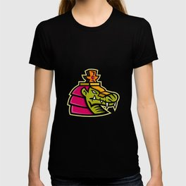 Sobek Egyptian God Mascot T-shirt