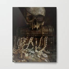 The Lost Treasure Metal Print