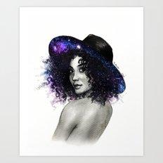 Andromeda Reverie Art Print