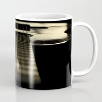 guitar Mugs featuring guitar by Ingrid Beddoes