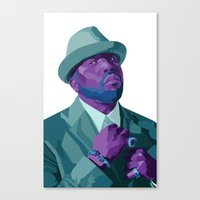 outkast Canvas Prints featuring Big Boi by kablab