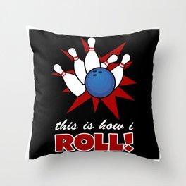 Bowling Bowling Skittles Hobby Strike Throw Pillow