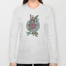 flowers in the winter Long Sleeve T-shirt