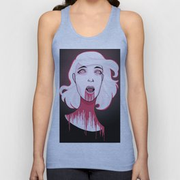 blood Unisex Tank Top