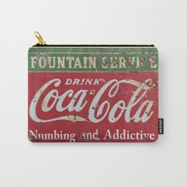 Coca- Cola Ad Carry-All Pouch