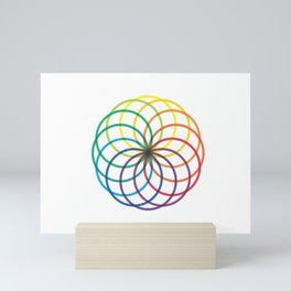 Color Rings Mini Art Print