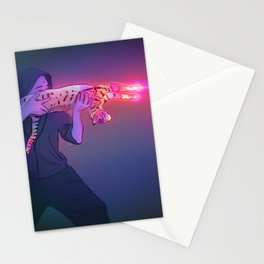 Cat Gun Stationery Cards