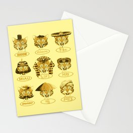 Many Meows Stationery Cards