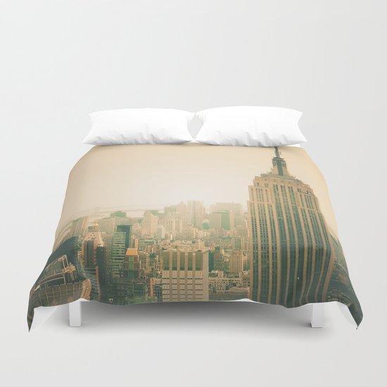 New York City - Empire State Building Duvet Cover