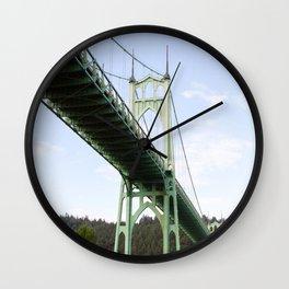 St John's Bridge Portland Wall Clock