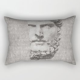 ANCIENT / Head of Lucius Verus Rectangular Pillow