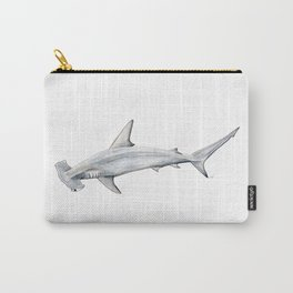 Hammerhead shark for shark lovers, divers and fishermen Carry-All Pouch
