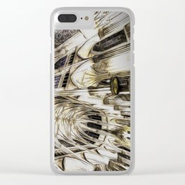 Cathedral Architecture Art Clear iPhone Case