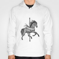 carousel Hoodies featuring Carousel by Rescue & Ramona