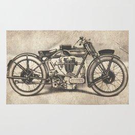 Norton Motorcycles Rug