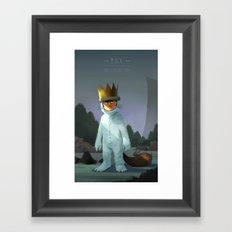 Kings of the Wild Things Framed Art Print