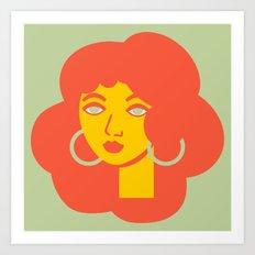 Polly Primrose Art Print