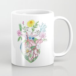 Blooming Heart Coffee Mug