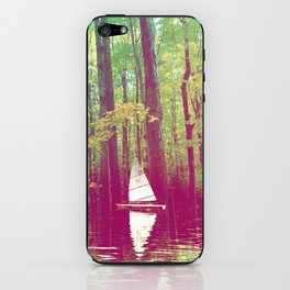 Explore the Woods iPhone Skin