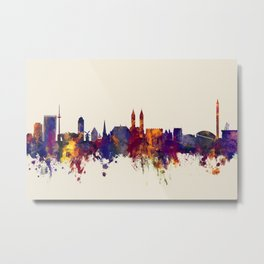 Bremen Germany Skyline Metal Print