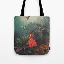 20 Seconds before the Rain Tote Bag