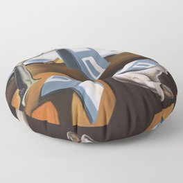 Persistence of 1.44 MB of Memory Floor Pillow