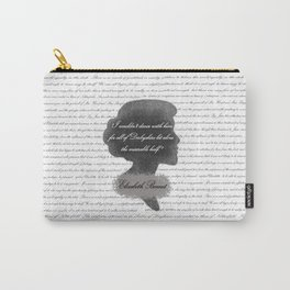 Elizabeth Bennet - Quote about Mr. Darcy Carry-All Pouch