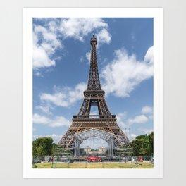 Tour Eiffel II Art Print