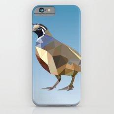 Geometric Quail iPhone 6s Slim Case