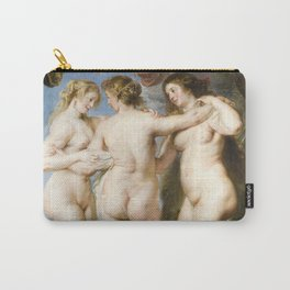 The Three Graces by Peter Paul Rubens, 1635 Carry-All Pouch