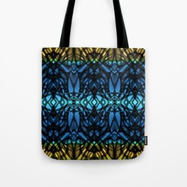 Fractal Art Stained Glass G315 Tote Bag