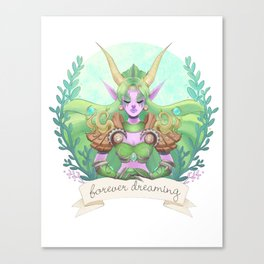 Ysera of the Dream Canvas Print