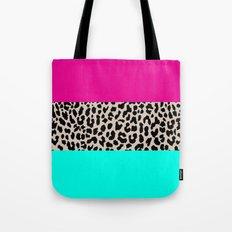 Leopard National Flag Tote Bag