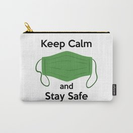 AP180-3 Keep Calm and Stay Safe Carry-All Pouch