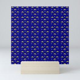 Flying saucer 5 Mini Art Print