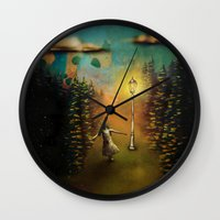 lucy Wall Clocks featuring Lucy by Joel Pritchard