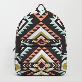 Vintage Cool Bohemian Boho Chic Hippie Blanket Pattern Backpack