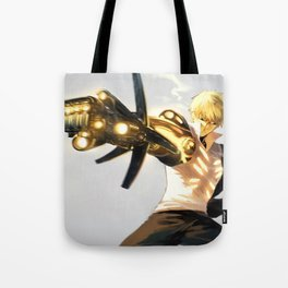 One Punch Man Genos Tote Bag
