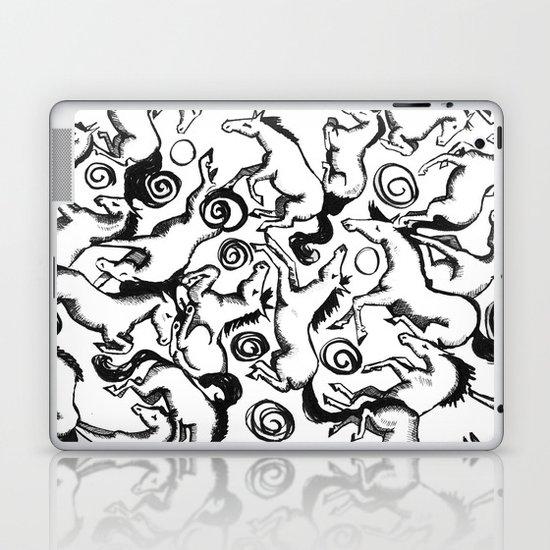 Carousel Chaos Laptop & iPad Skin