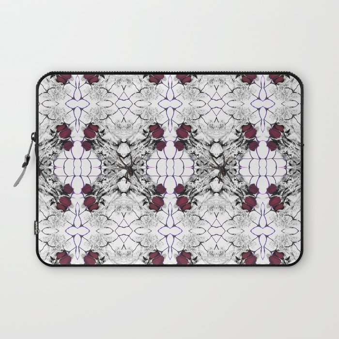 Roses Black Widow Laptop Sleeve