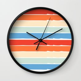 stripes design Wall Clock