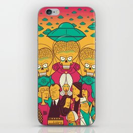 Mars Attacks! iPhone Skin