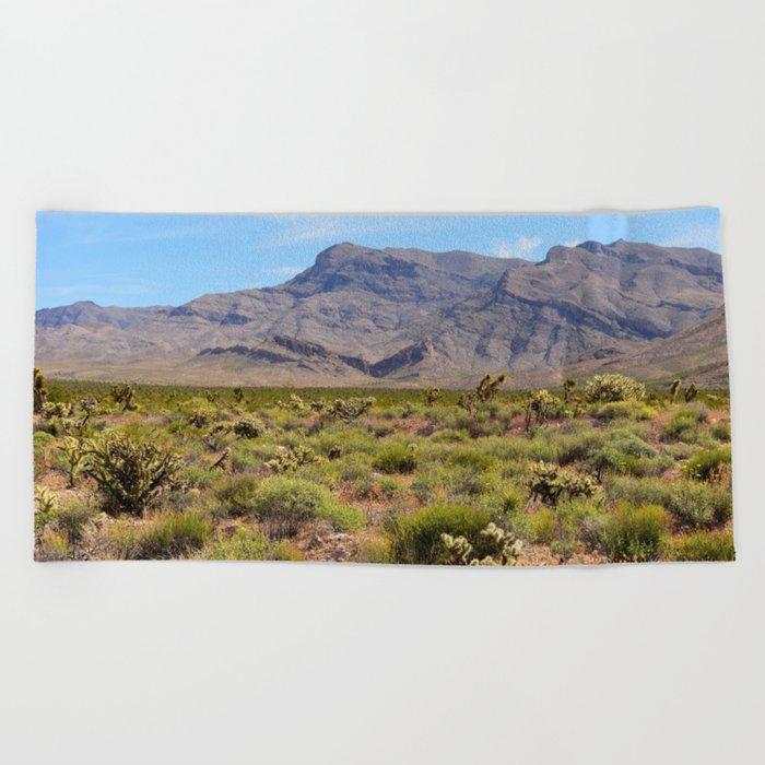 Painted Desert - I Beach Towel