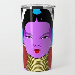 Bjork pop art Travel Mug