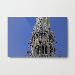 Musician angels of the Sainte-Chapelle, Paris Metal Print
