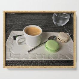 A Coffee Break in Paris Serving Tray