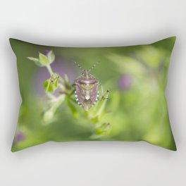 Spring bug Rectangular Pillow