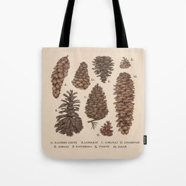 Pinecones Tote Bag