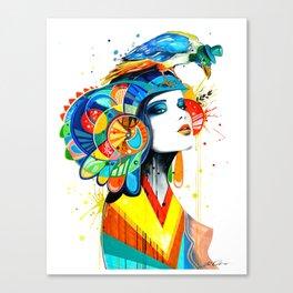 """The Aztec"" Canvas Print"