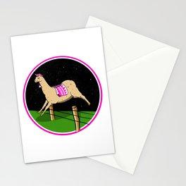 Llama dreamer Stationery Cards